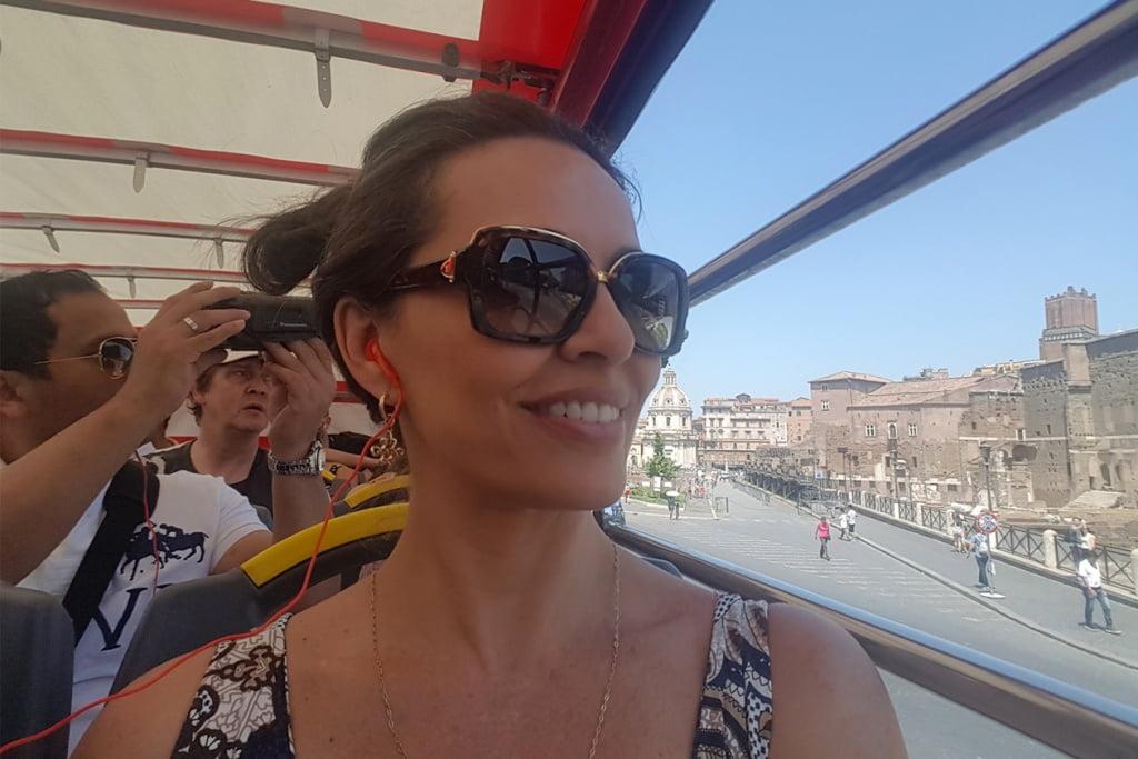 Um passeio por Roma
