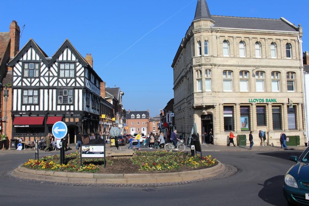 Stratford-upon-Avon a cidade natal de William Shakespeare